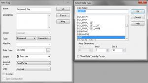 ControlLogix Produced Tag Configuration
