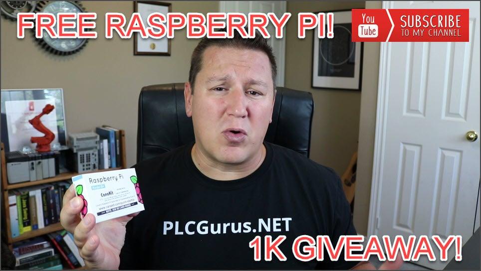 Free raspberry pi giveaway